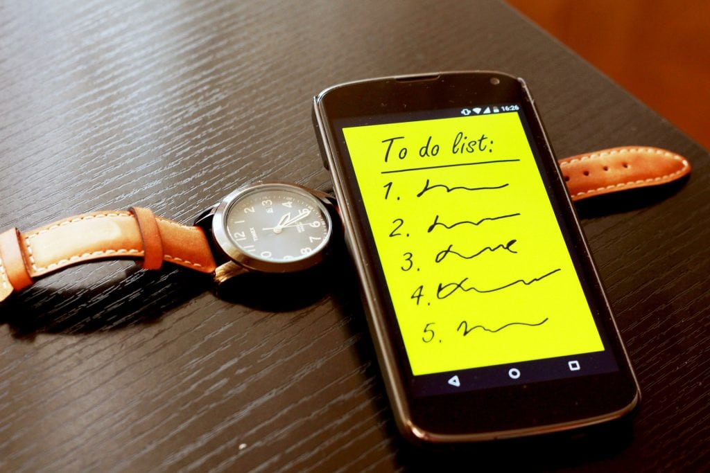 Organizing your to-do list for maximum productivity
